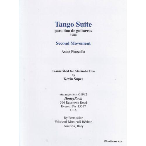 HONEYROCK TANGO SUITE MOV'T II - VIBRAPHONE AND MARIMBA