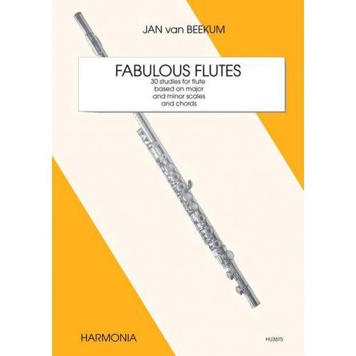 HARMONIA KLASSISCHE NOTEN - VAN BEEKUM J. - FABULOUS FLUTES
