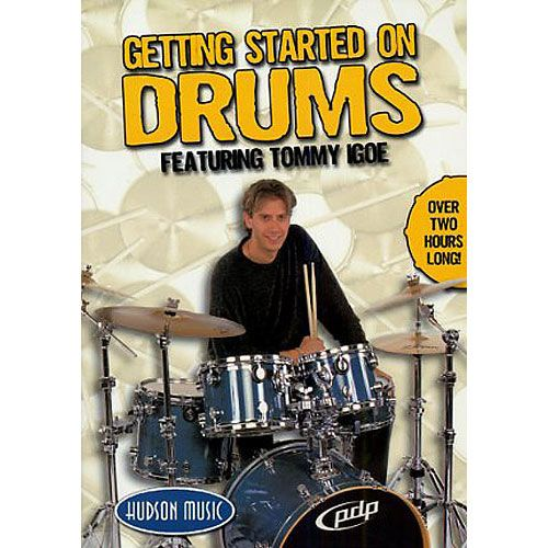 HUDSON MUSIC IGOE T. - DVD GETTING STARTED ON DRUMS