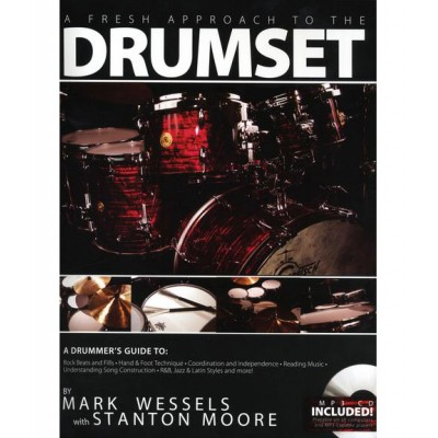 HUDSON MUSIC WESSELS M. - A FRESH APPROACH TO THE DRUMSET + CD