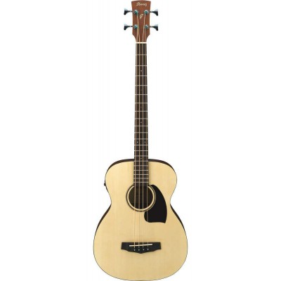 B Stock Ibanez Pcbe12-opn Acoustic Bass Guitar With Pick-up Acoustic Electric Guitars