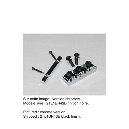 IBANEZ 2TL1BR43B TOP LOCK III 43 MM BLACK LOCKING NUT FLOYD ROSE TYPE