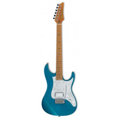 IBANEZ PRESTIGE AZ2204F-TAB TRANSPARENT AQUA BLUE