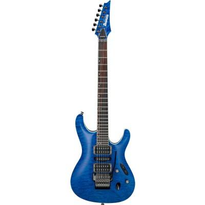 IBANEZ S PRESTIGE S6570Q-NBL NATURAL BLUE