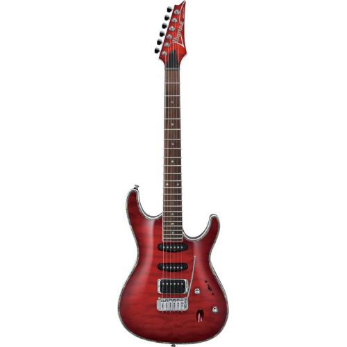 IBANEZ SA SA360QM-TRB TRANSPARENT RED BURST