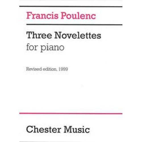 CHESTER MUSIC POULENC F. - THREE NOVELETTES - PIANO