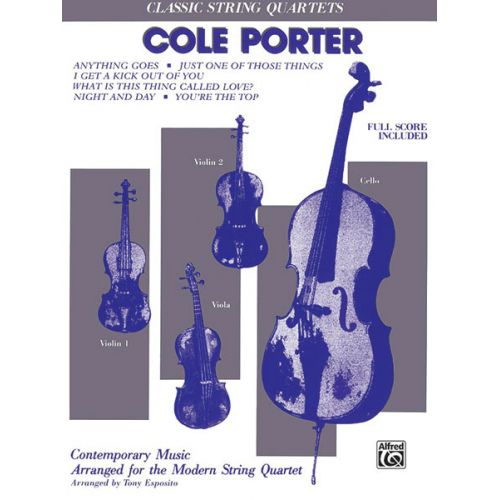 ALFRED PUBLISHING PORTER COLE - STRING QUARTET