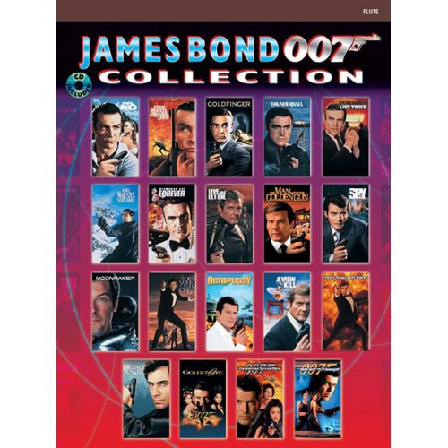 ALFRED PUBLISHING BARRY JOHN - JAMES BOND 007 COLLECTION + CD - FLUTE AND PIANO