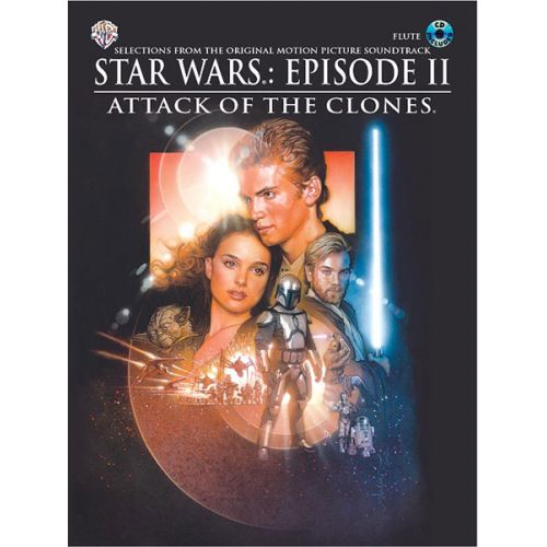 ALFRED PUBLISHING WILLIAMS JOHN - STAR WARS II : ATTACK OF THE CLONES + CD - FLUTE