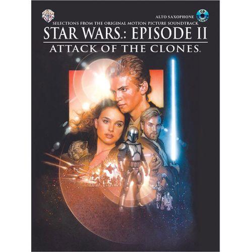 ALFRED PUBLISHING WILLIAMS JOHN - STAR WARS II: ATTACK OF THE CLONES + CD - ALTO SAXOPHONE
