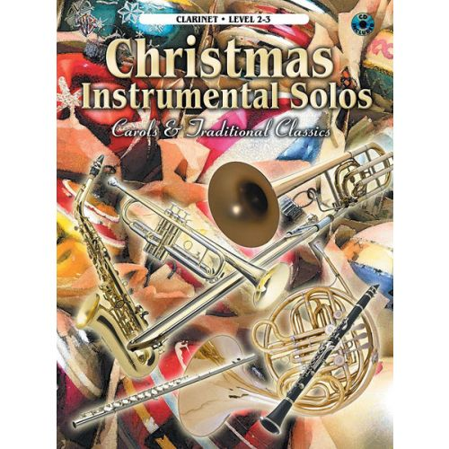 ALFRED PUBLISHING CHRISTMAS SOLOS CAROLS + CD - CLARINET AND PIANO