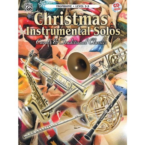 ALFRED PUBLISHING CHRISTMAS SOLOS CAROLS - TROMBONE AND PIANO