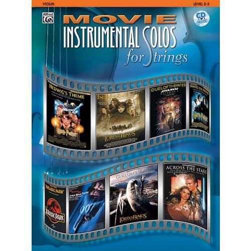 WARNER BROS MOVIE INSTRUMENTAL SOLOS + CD - VIOLON