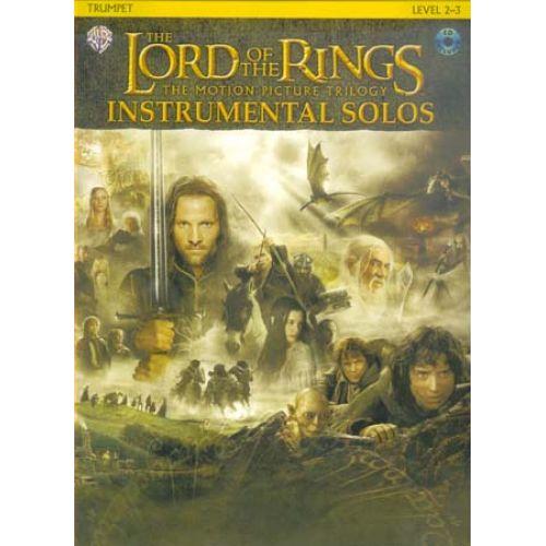 WARNER BROS LORD OF THE RINGS INSTRUMENTAL SOLOS - TROMPETTE + CD