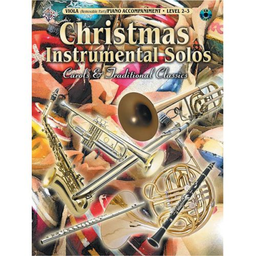 ALFRED PUBLISHING CHRISTMAS SOLOS CAROLS - VIOLA AND PIANO