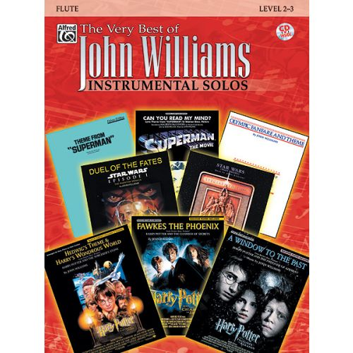 WARNER BROS WILLIAMS JOHN - VERY BEST OF - FLUTE + CD