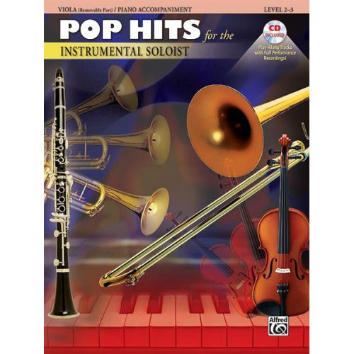 ALFRED PUBLISHING POP HITS:INSTRUMENTAL SOLOISTS + CD - VIOLA SOLO