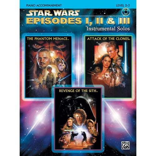 ALFRED PUBLISHING WILLIAMS JOHN - STAR WARS EPISODES I-III + CD - PIANO SOLO