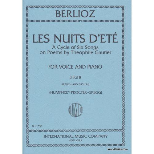 IMC BERLIOZ H. - LES NUITS D'ETE OP.7 - VOIX HAUTE