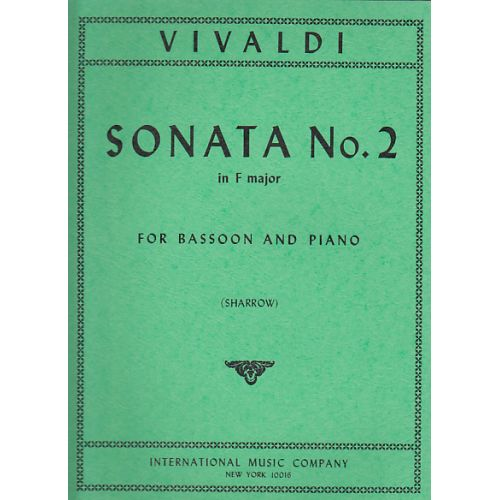 IMC VIVALDI ANTONIO - SONATA N°2 IN F MAJOR