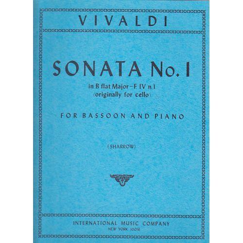 IMC VIVALDI ANTONIO - SONATA N°1 IN B FLAT MAJOR