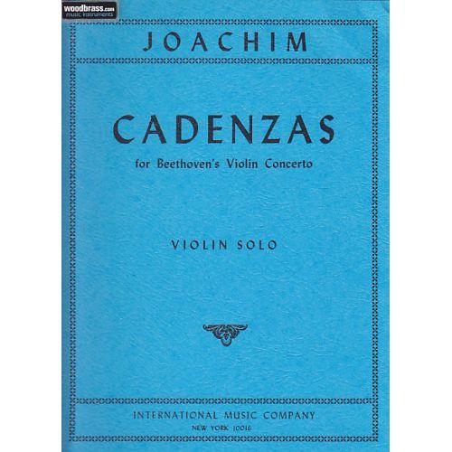 IMC JOACHIM JOSEPH - CADENZAS FOR BEETHOVEN'S VIOLIN CONCERTO - VIOLIN SOLO