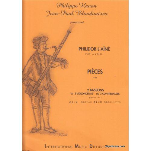 IMD ARPEGES PHILIDOR L'AINE A. - PIECES POUR 2 BASSONS