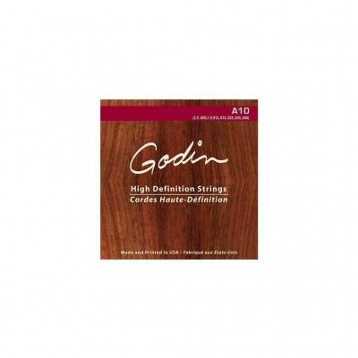 GODIN ROPES FOR A10 (3*.009, .012, .015, .025, .035, .045) BOX OF 10