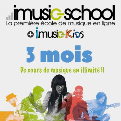 IMUSIC-SCHOOL 3 MOIS ALL ACCESS