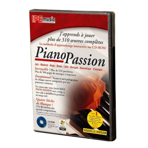 IPE MUSIC PIANO PASSION 2 : METHODE SUR CD-ROM
