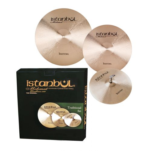 ISTANBUL MEHMET TRADITIONAL - CYMBAL SET 14