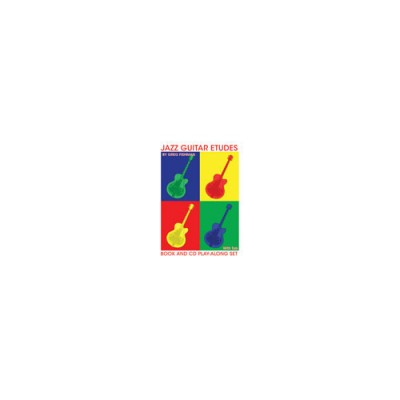 JAZZ STUDIO FISHMAN G. - JAZZ GUITAR ETUDES + CD