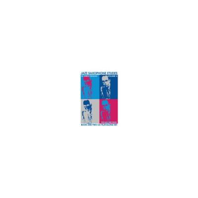 JAZZ STUDIO FISHMAN G. - JAZZ SAXOPHONE ETUDES VOL. 4 + 2 CD'S