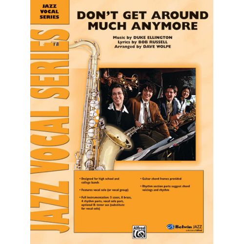 ALFRED PUBLISHING ELLINGTON DUKE - DON'T GET AROUND MUCH ANYMORE - JAZZ BAND