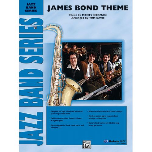 ALFRED PUBLISHING DAVIS TOM - JAMES BOND THEME - JAZZ BAND