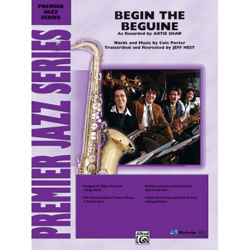 ALFRED PUBLISHING PORTER COLE - BEGIN THE BEGUINE - JAZZ BAND