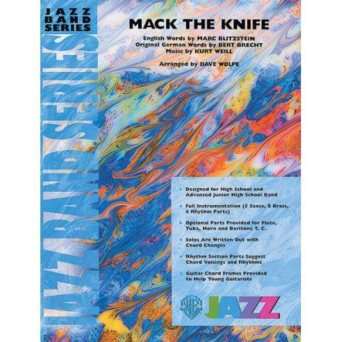 mack the knife pdf big band