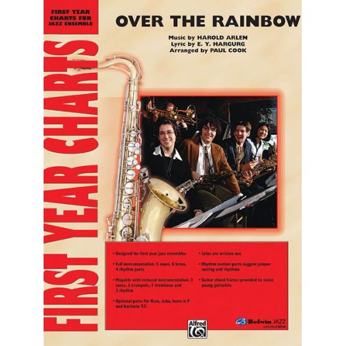 ALFRED PUBLISHING ARLEN HAROLD - OVER THE RAINBOW - JAZZ BAND