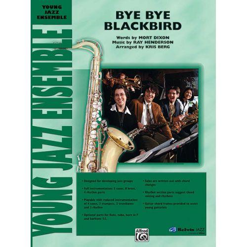 ALFRED PUBLISHING BERG KRIS - BYE BYE BLACKBIRD - JAZZ BAND