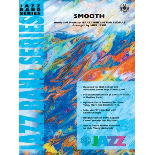 ALFRED PUBLISHING LEWIS MIKE - SMOOTH - JAZZ BAND