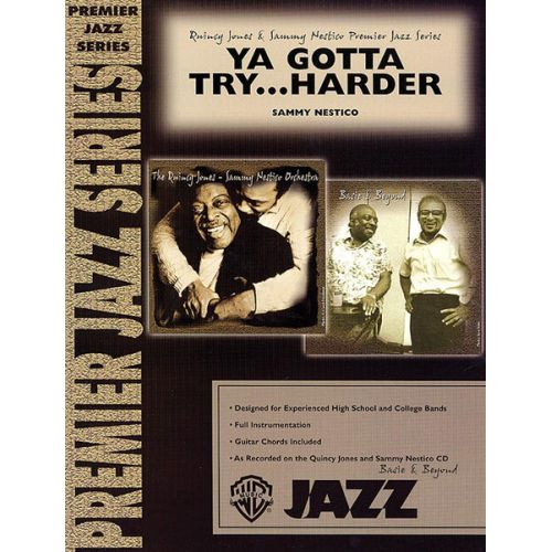 ALFRED PUBLISHING NESTICO SAMMY - YA GOTTA TRY HARDER - JAZZ BAND