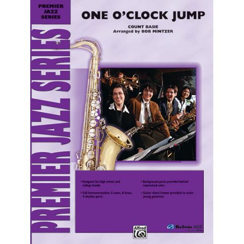 ALFRED PUBLISHING BASIE COUNT - ONE O'CLOCK JUMP - JAZZ BAND
