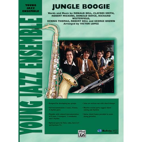 ALFRED PUBLISHING LOPEZ VICTOR - JUNGLE BOOGIE - JAZZ BAND