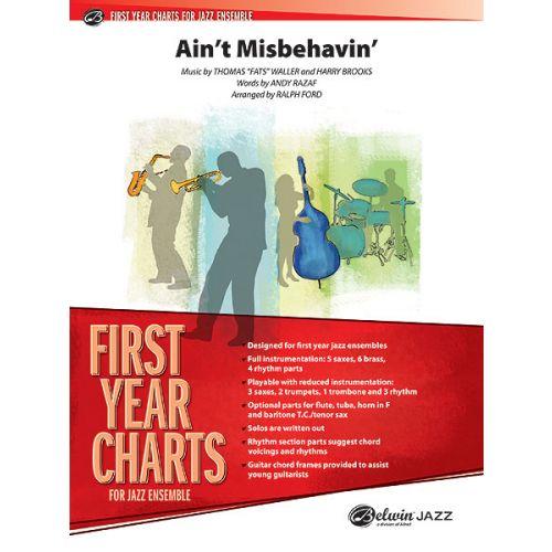 ALFRED PUBLISHING WALLER F. - AIN'T MISBEHAVIN' - JAZZ BAND