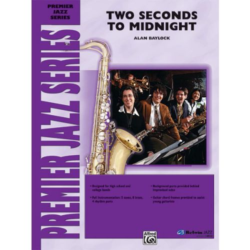ALFRED PUBLISHING BAYLOCK ALAN - TWO SECONDS TO MIDNIGHT - JAZZ BAND