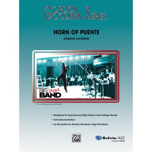 ALFRED PUBLISHING GOODWIN GORDON - HORN OF PUENTE - JAZZ BAND