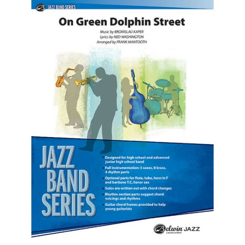 ALFRED PUBLISHING MANTOOTH FRANK - ON GREEN DOLPHIN STREET - JAZZ BAND