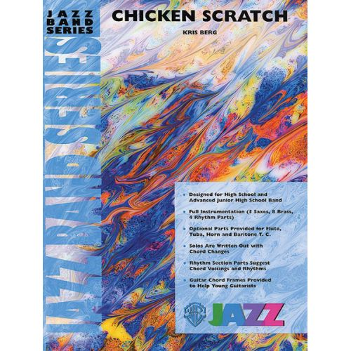 ALFRED PUBLISHING BERG KRIS - CHICKEN SCRATCH - JAZZ BAND