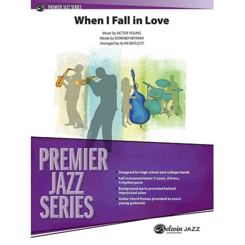 ALFRED PUBLISHING BAYLOCK ALAN - WHEN I FALL IN LOVE - JAZZ BAND