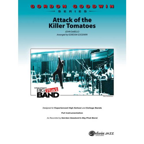 ALFRED PUBLISHING GOODWIN GORDON - ATTACK OF THE KILLER TOMATOES - JAZZ BAND